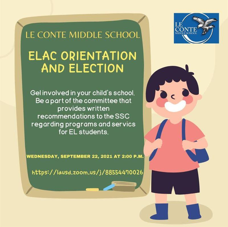 Become an ELAC member....we need YOU! Featured Photo