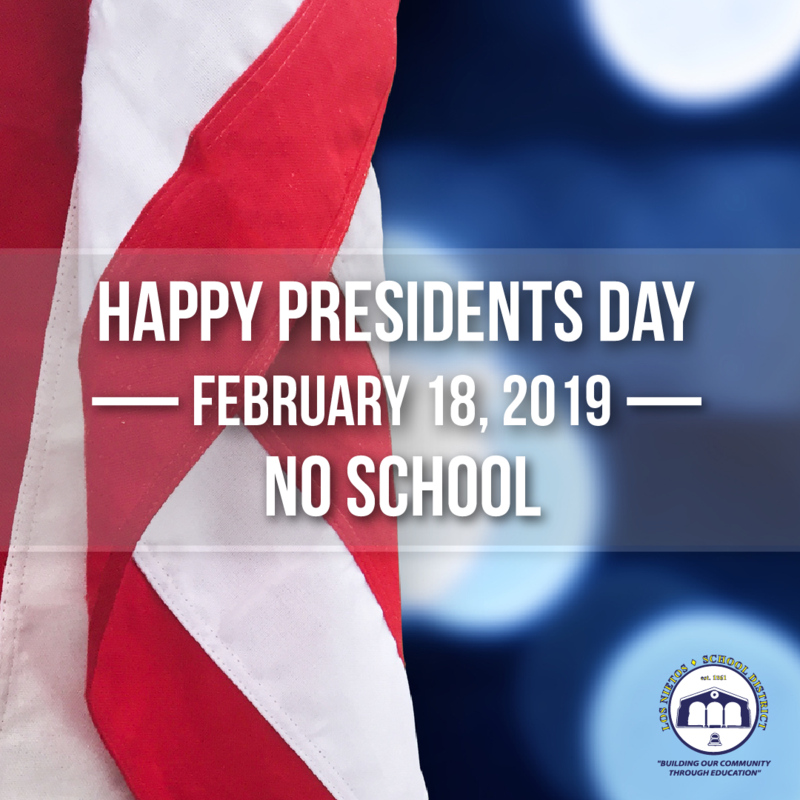 No School - Presidents Day Featured Photo