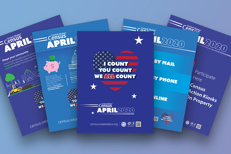 Census Campaign Posters
