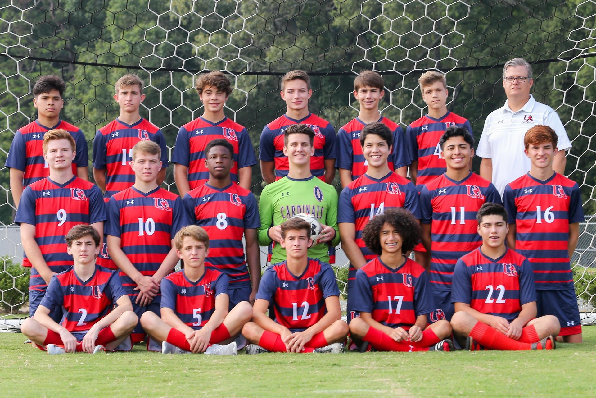 2018-19 V Men's Soccer Team