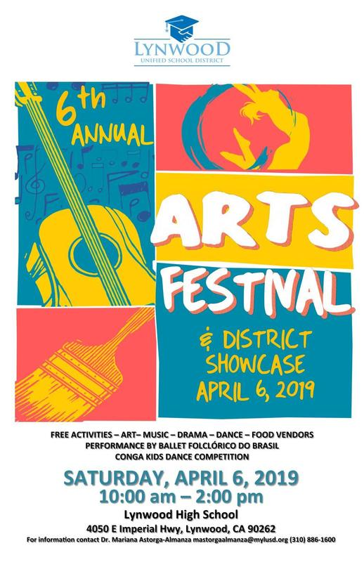 Lynwood Unified Hosts 6th Annual Arts Festival and District Showcase Featured Photo