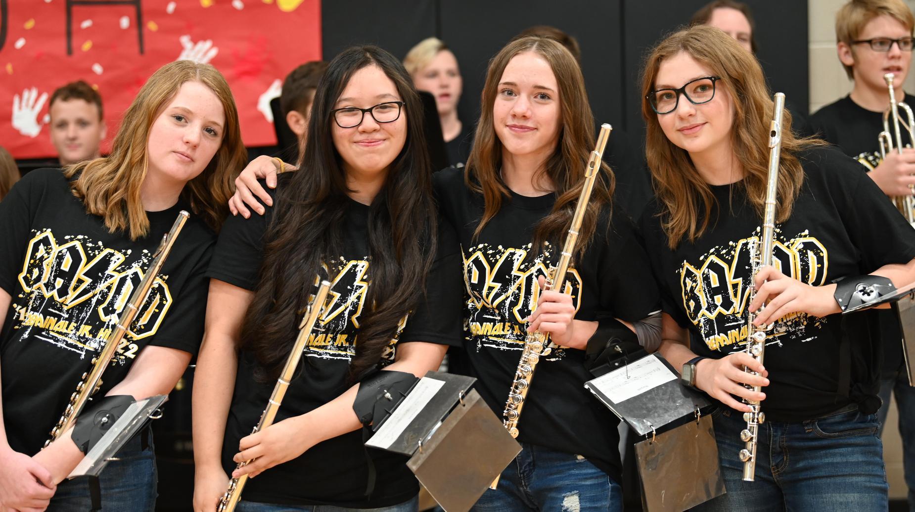 sjhs band students