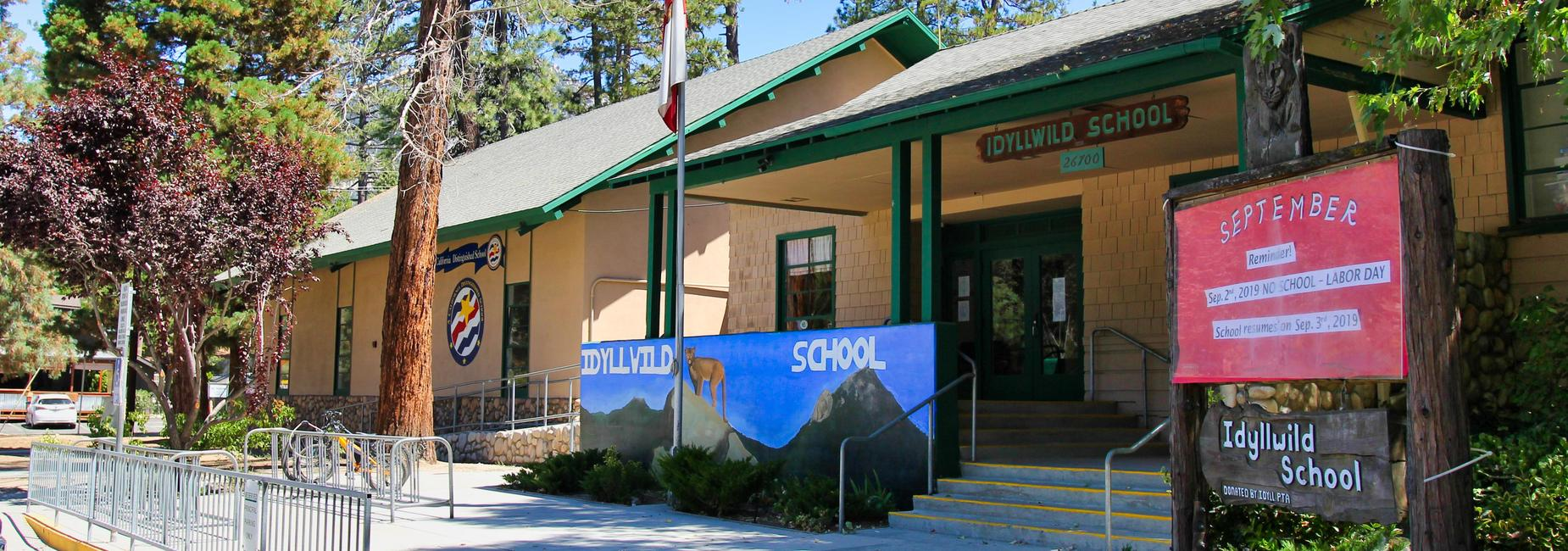 Idyllwild administration building