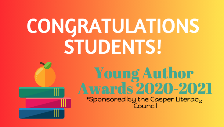 Young authors celebration graphic