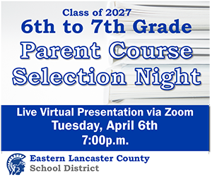 6th to 7th Grade Parent Course Selection