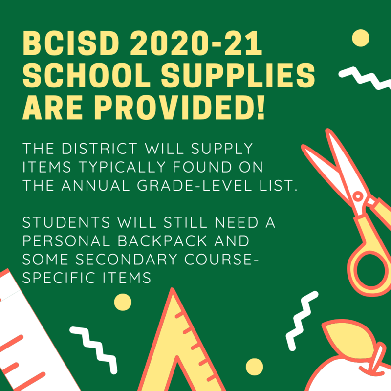 School Supplies Provided for Students Thumbnail Image