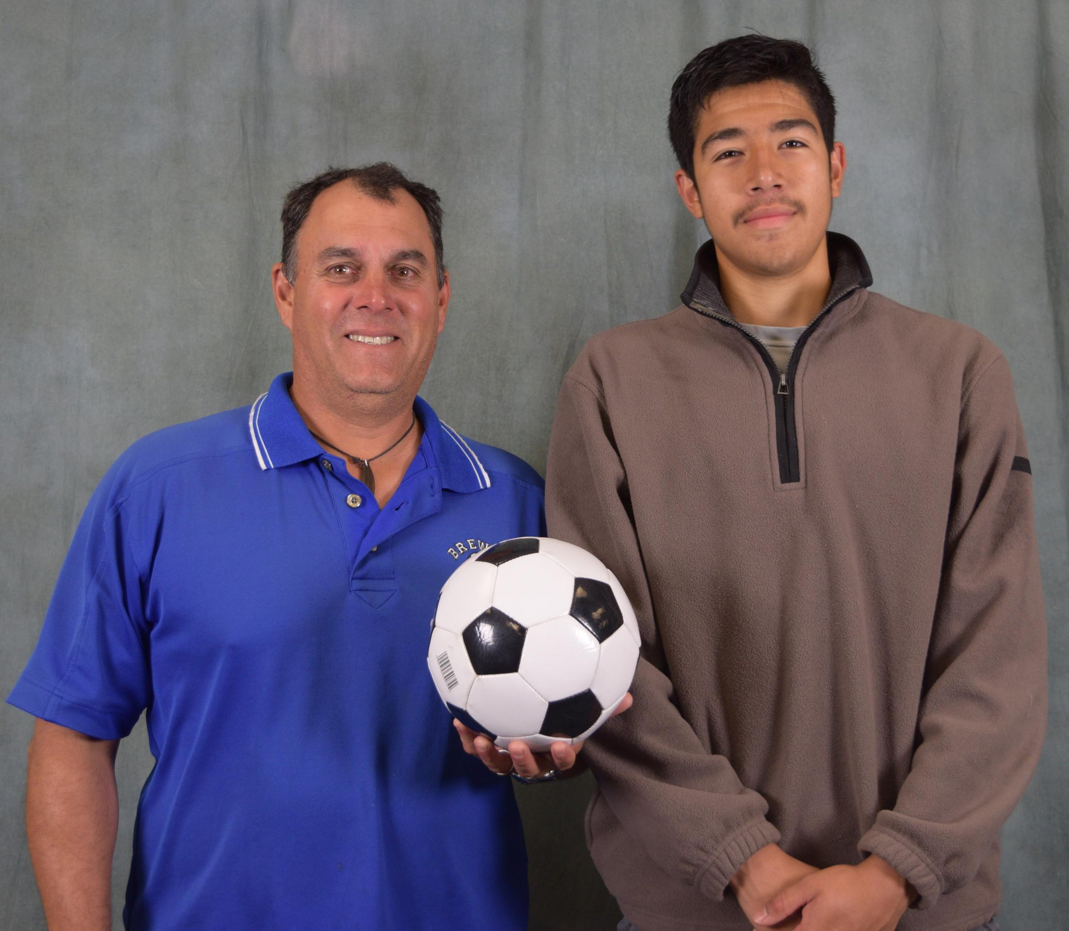 Brewer Soccer Player Selected to All State Team