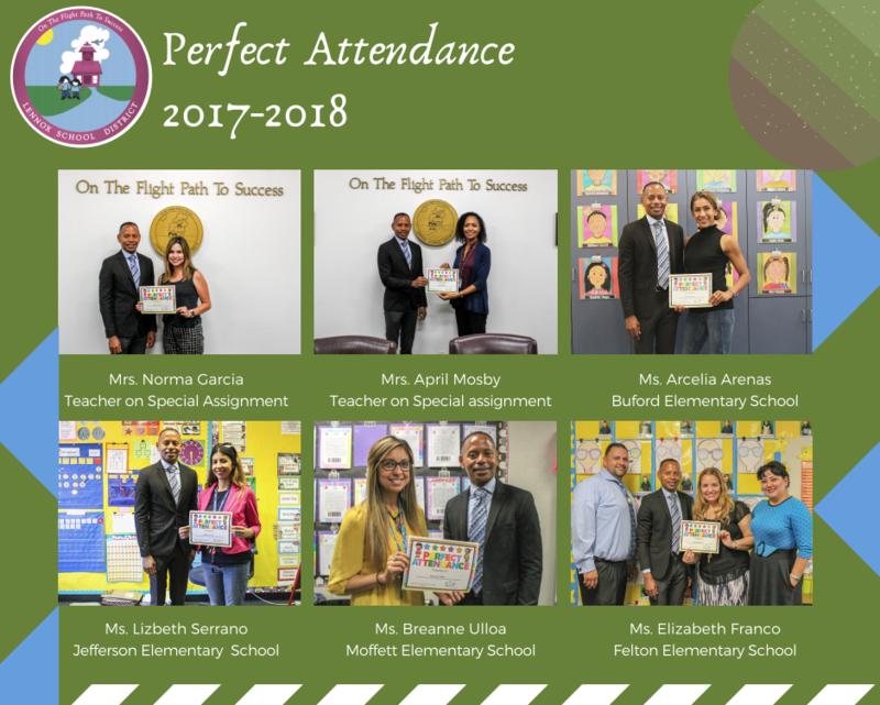 teachers perfect attendance