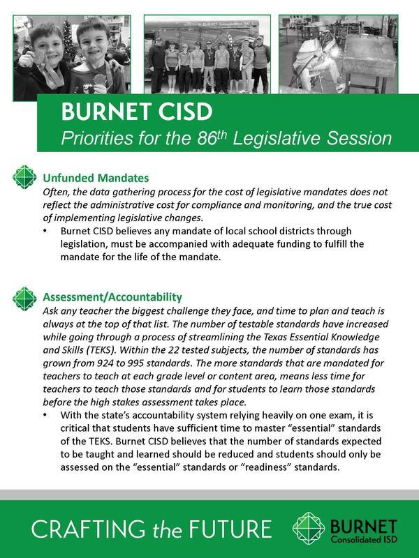 Board Approves Legislative Priorities Thumbnail Image