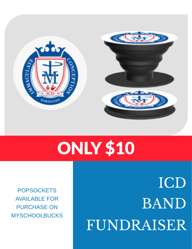 ICD Band Popsocket Fundraiser Featured Photo