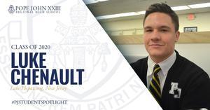 Luke Chenault PJ Student Spotlight