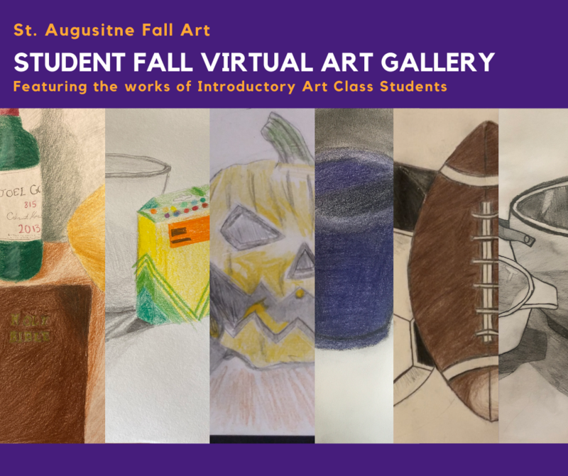 Fall Student Art features still life drawings Featured Photo