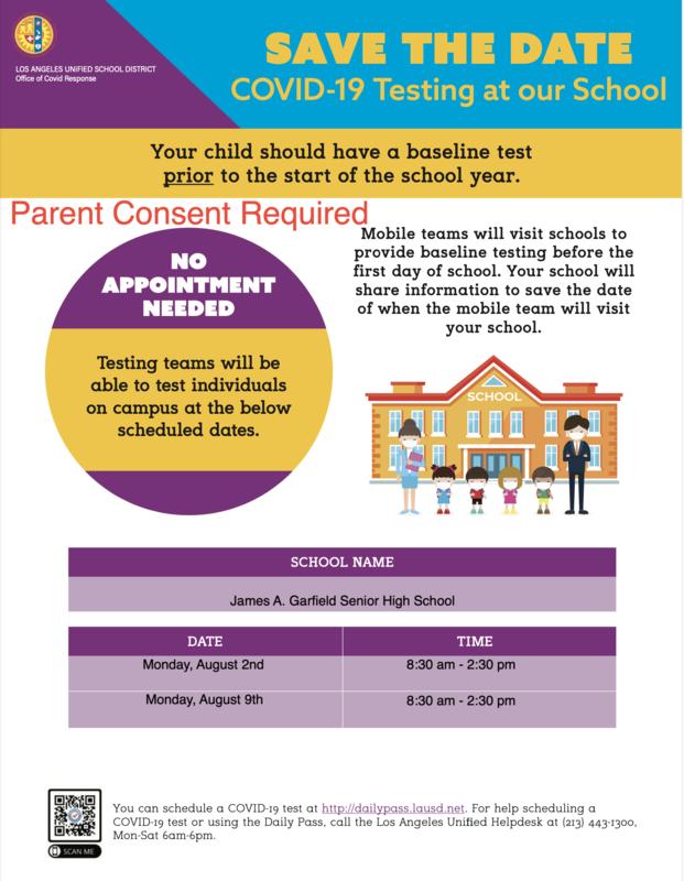 Se requiere consentimiento de los padres