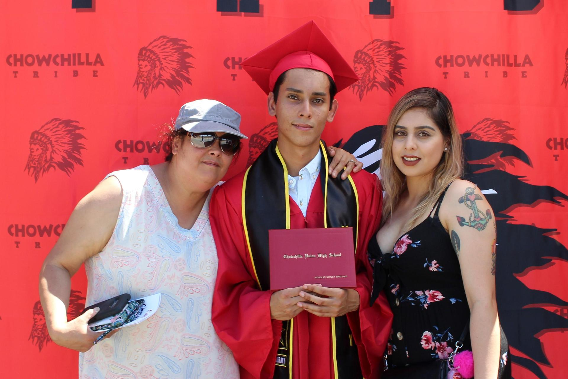 Nicholas Martinez and family