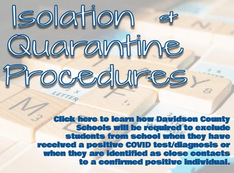 Quarantine Procedures