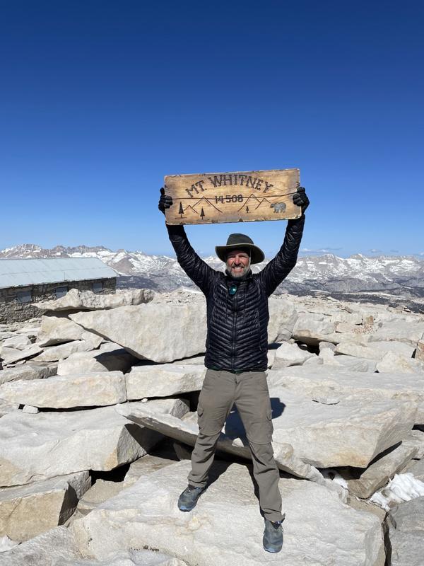 Tom on Mt. Whitney