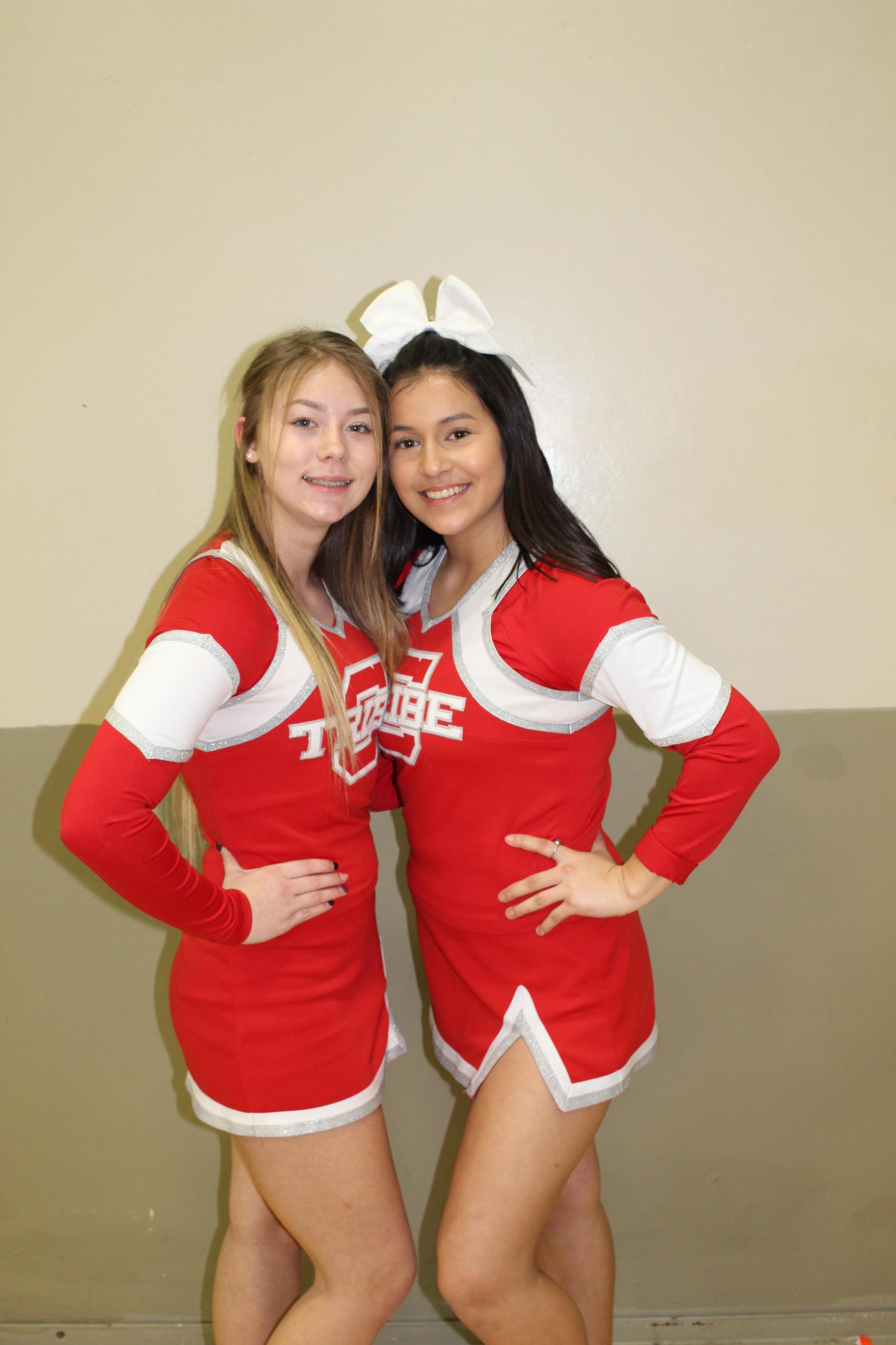 Cheerleaders at Washington Union Game