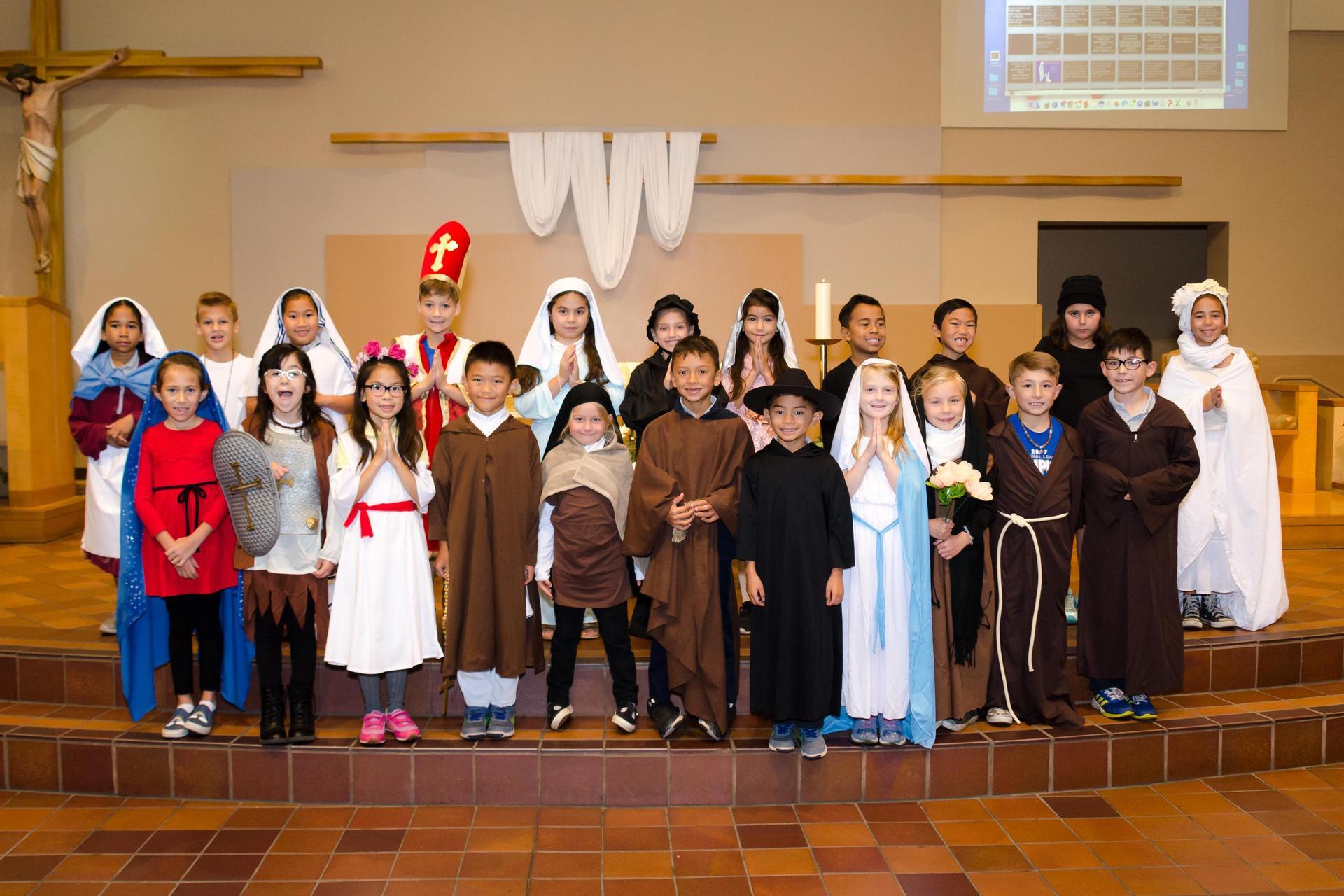 Children as saints