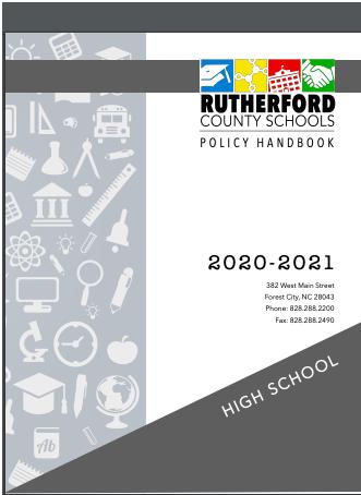 RCS Student Handbook 2020-2021