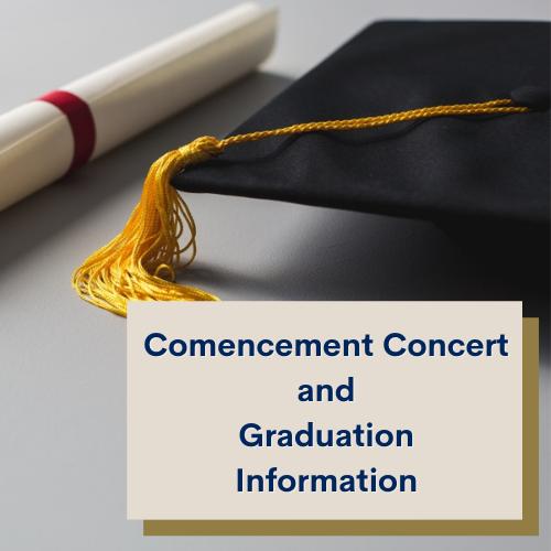 Commencement Concert/Graduation Information Featured Photo