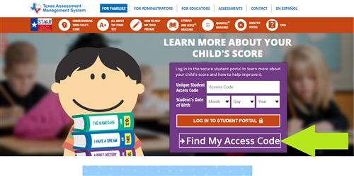 Cómo acceder a los resultados de STAAR y TELPAS de su hijo(a). Thumbnail Image