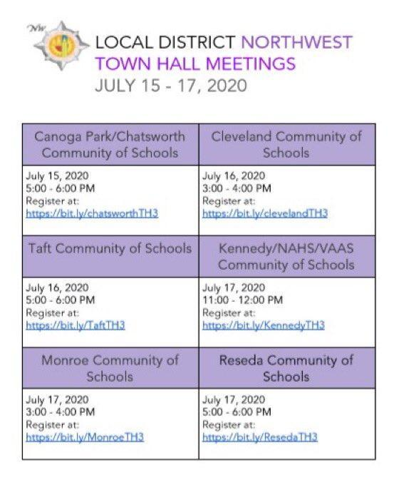 LDNW Virtual Town Hall Meetings Will Be Held July 15-17 Featured Photo
