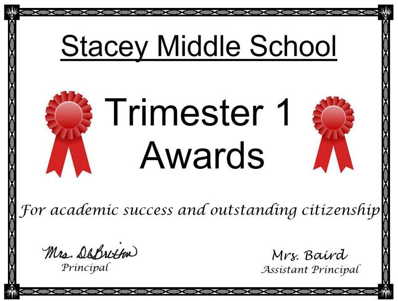 Trimester 1 Awards