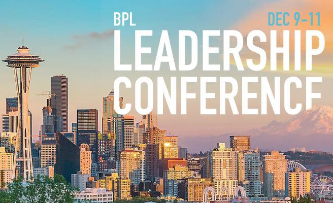 Registration for the 2019 BPL Leadership Conference is now open! Featured Photo