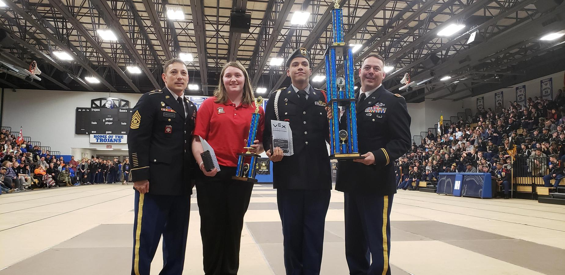JROTC Cadets Place 3rd Place in Competition
