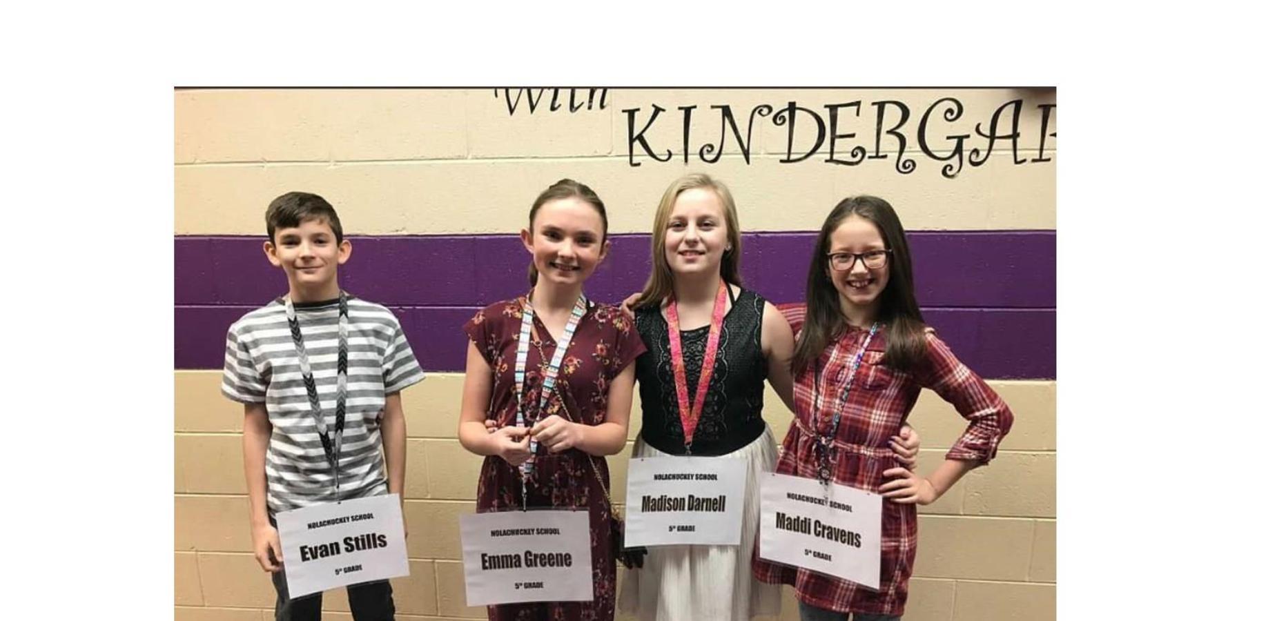 Nolachuckey Spelling Bee Team 2019