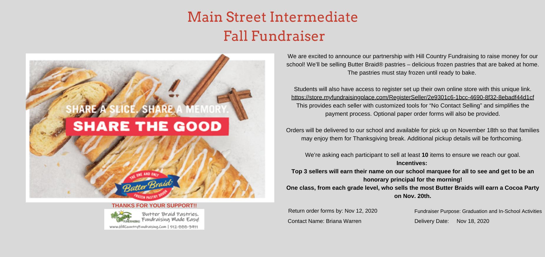 MSI Fall Fundraiser