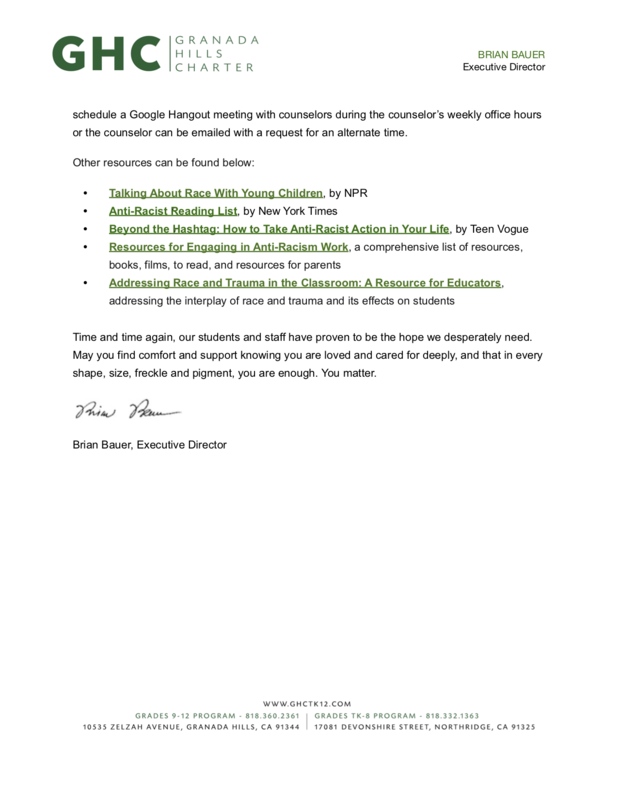 Granada Hills Charter Responds to Continued Violence Against African Americans and Racial Injustice (page 2).png