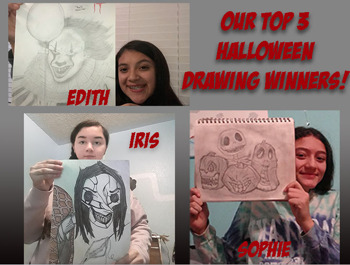 Halloween drawing contest