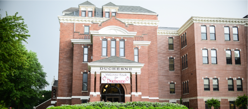 Photo of Duchesne Academy's building
