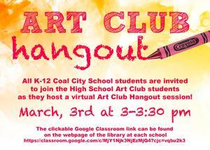 Art Club Hangout K-12