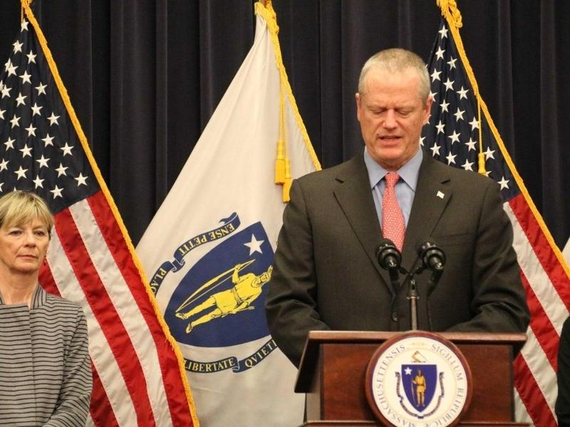 Governor Baker Announcing School Closure