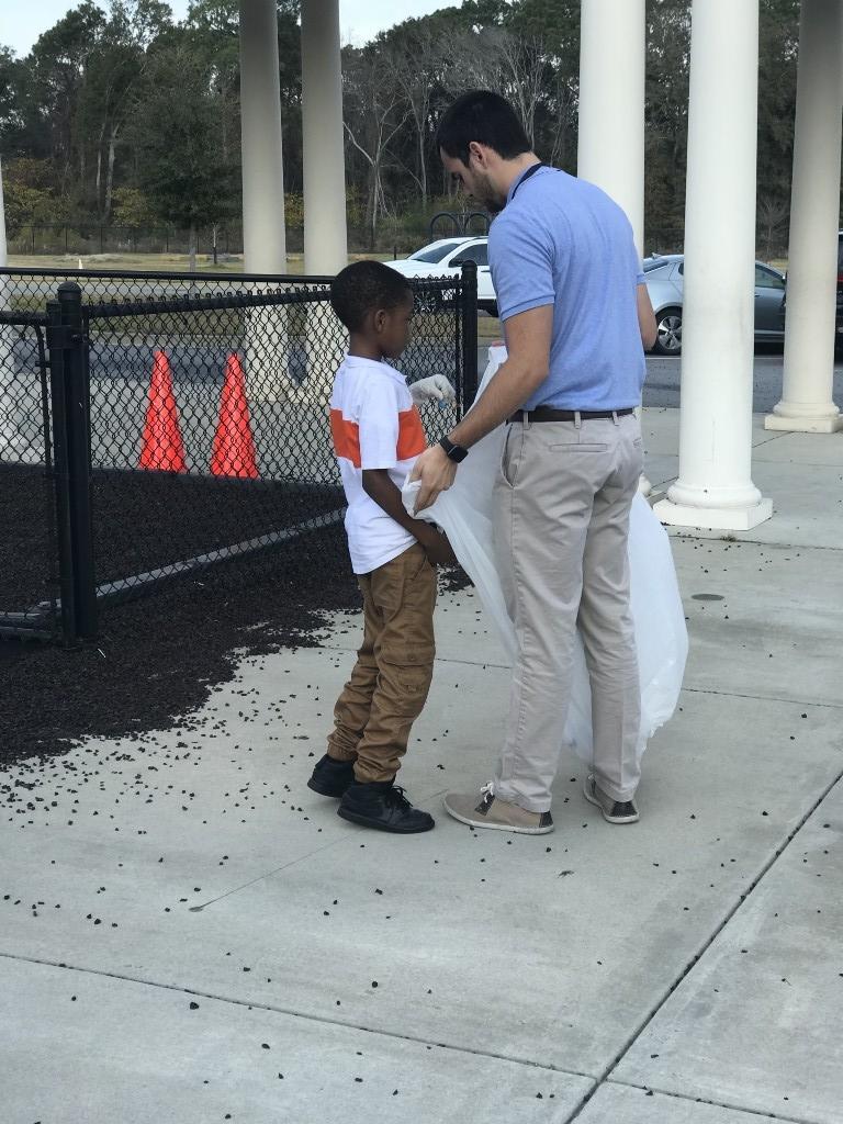 Mr. Ricardo and student