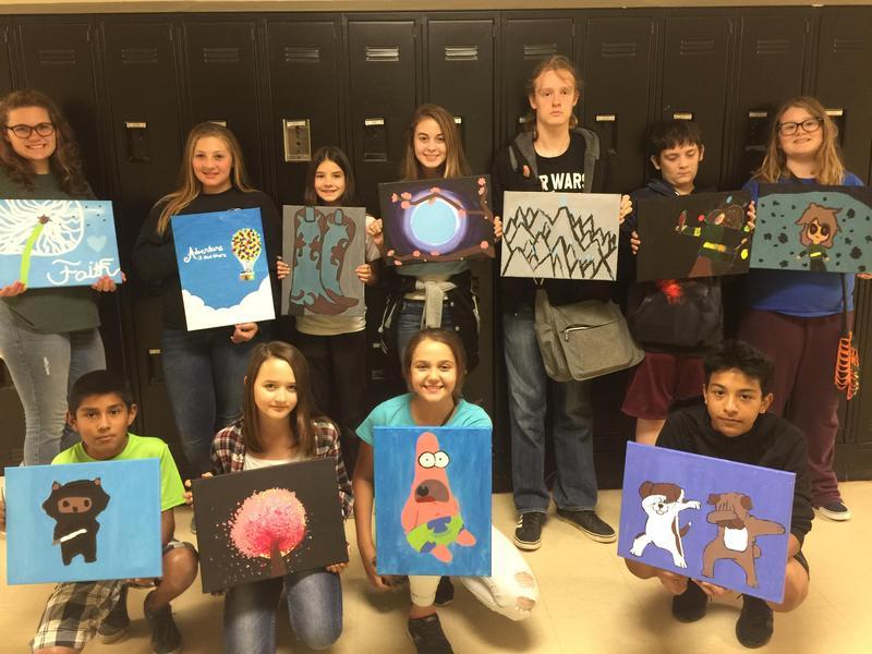 SJHS Art Class Spotlight Thumbnail Image