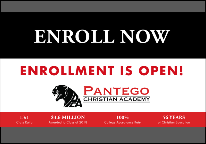 Enrollment for 2020-2021 is now open