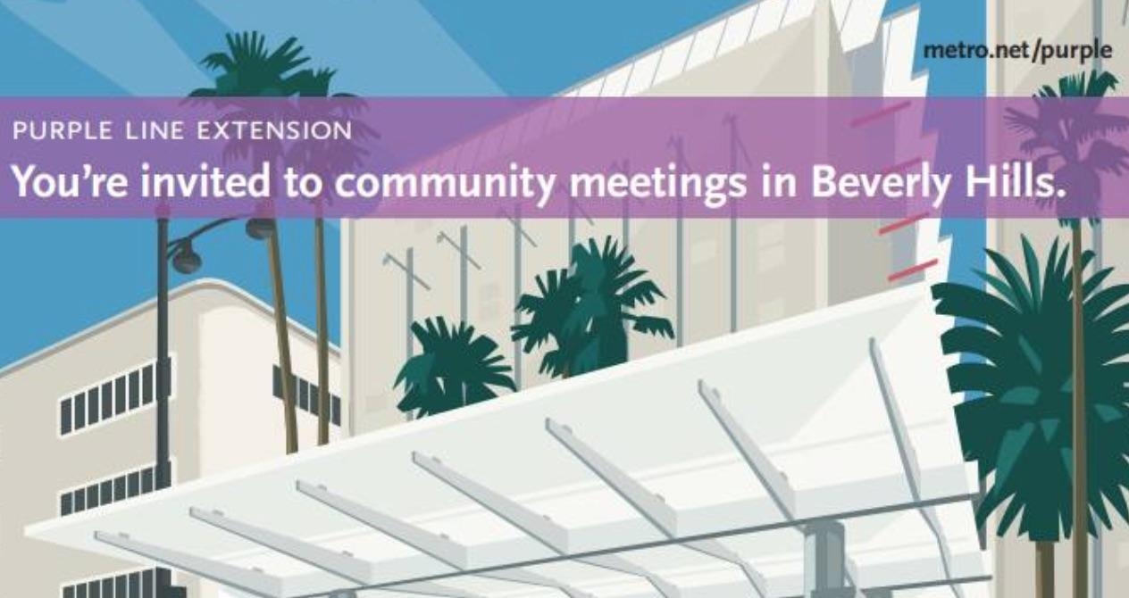 Metro Purple Line Community Meeting