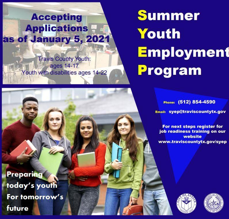Summer Youth Employment Program Featured Photo