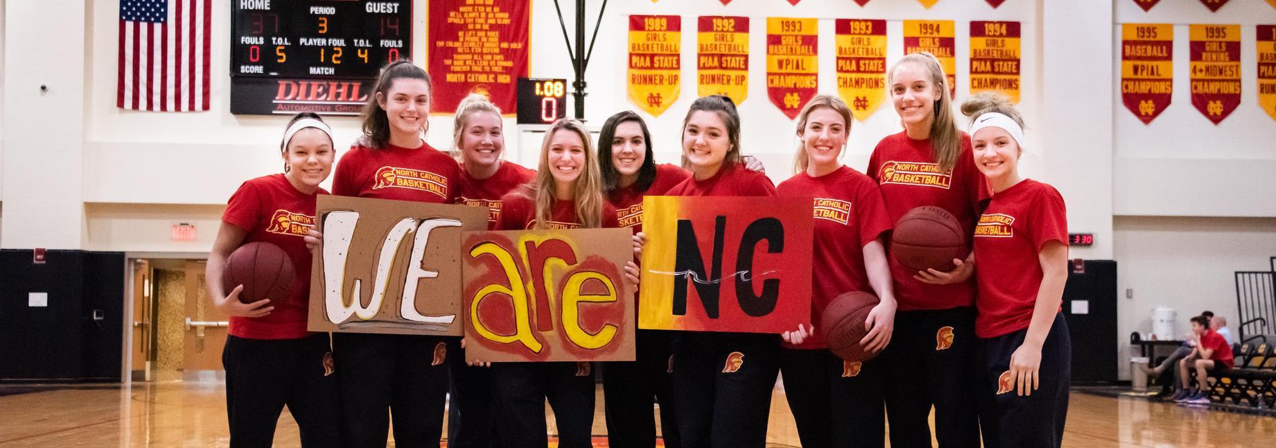 North Catholic Girls Basketball Trojanettes