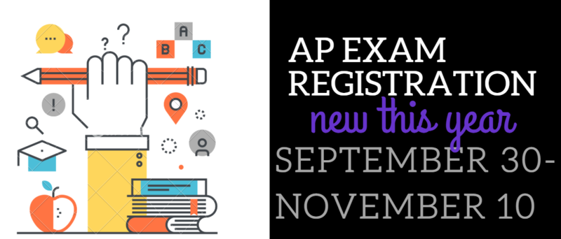 AP Exam Registration is now open in My Payment Plus Thumbnail Image