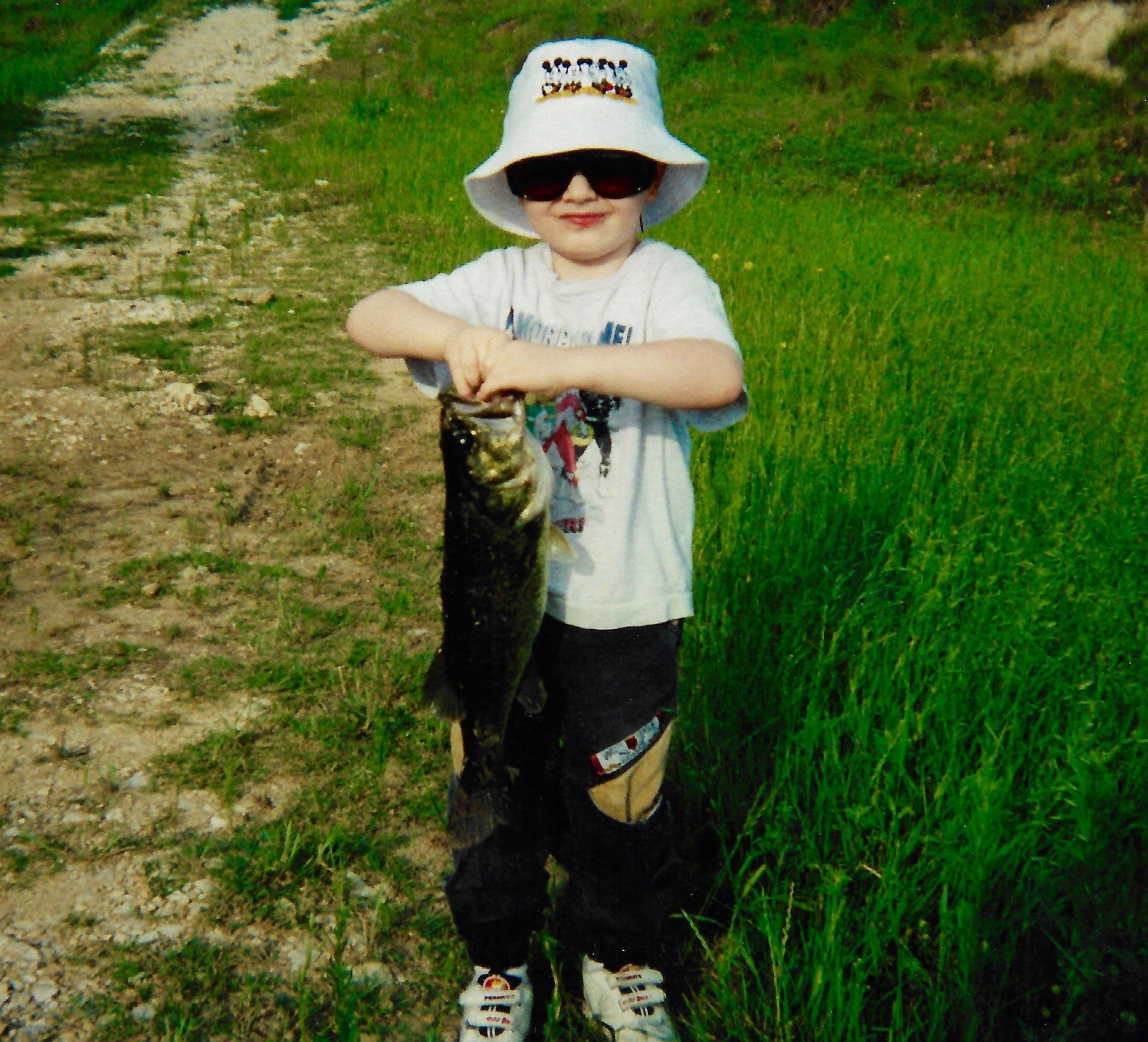 Eric fishing 1998