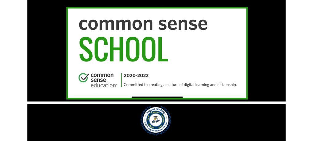 Sequoia is a Common Sense Media Certified School!
