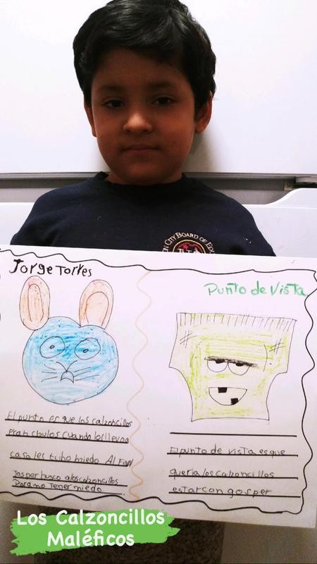 Jorge holding