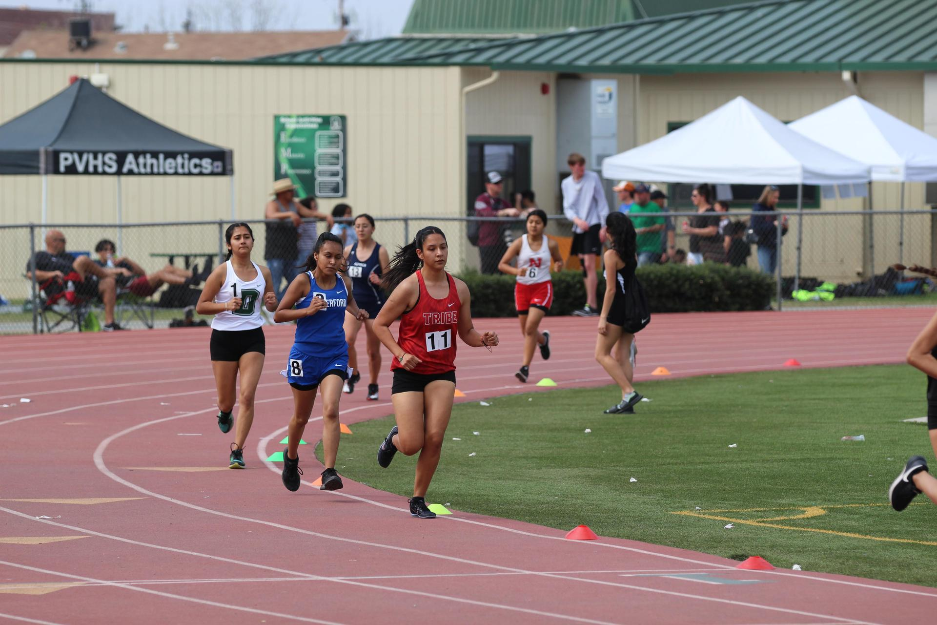 Chowchilla athletes competing in Dinuba