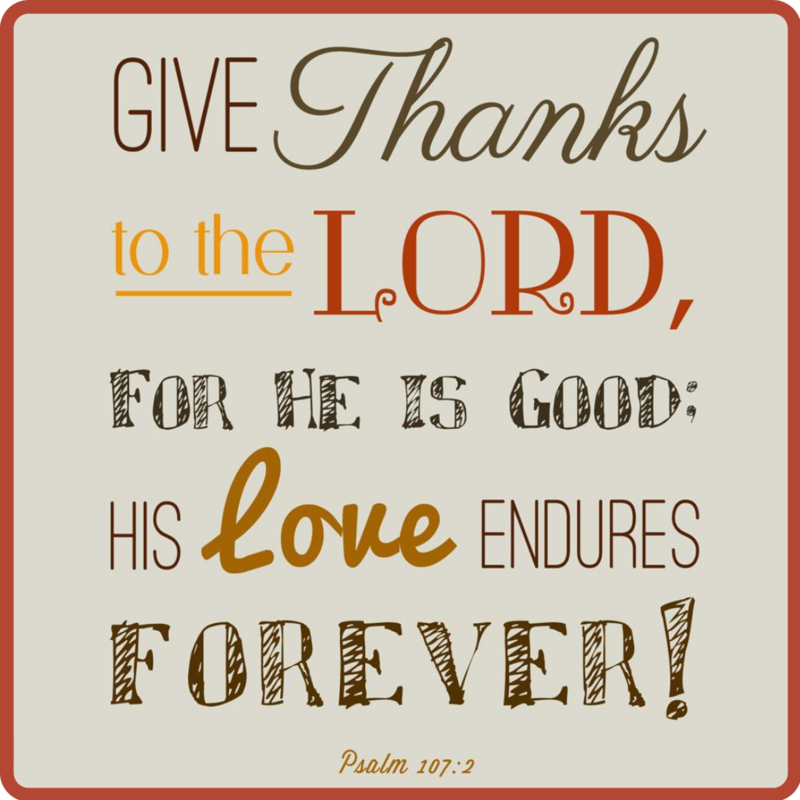 Be Thankful! Featured Photo