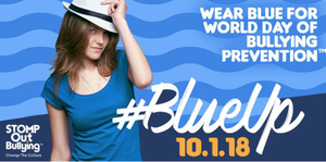 Wear blue for anti-bullying 10/01/2018