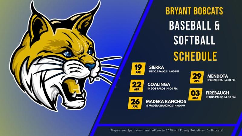 Baseball and Softball Schedule Featured Photo